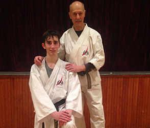 Black belt promotion